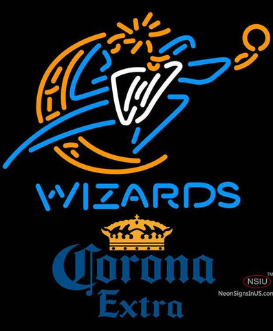 Corona Extra Washington Wizards NBA Neon Sign
