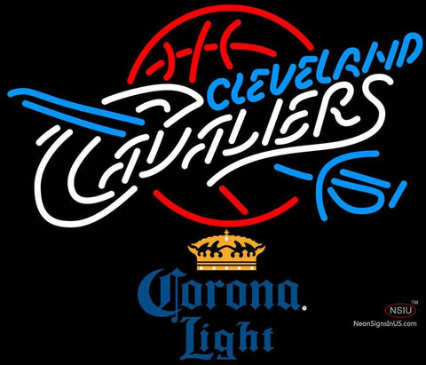 Corona Light Cleveland Cavaliers NBA Neon Sign