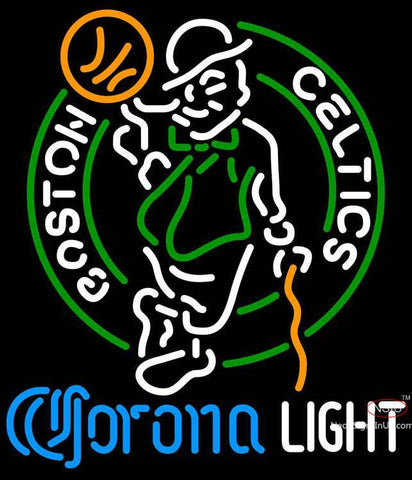 Corona Light Neon Logo Boston Celtics NBA Neon Sign  7