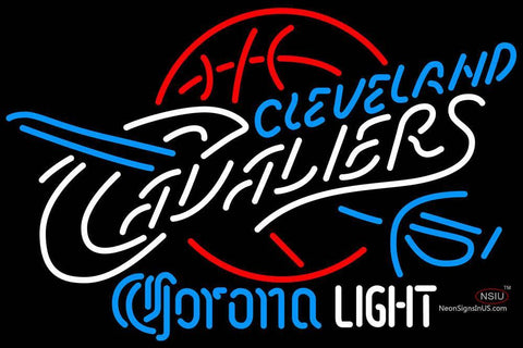 Corona Light Neon Logo Cleveland Cavaliers NBA Neon Sign  7