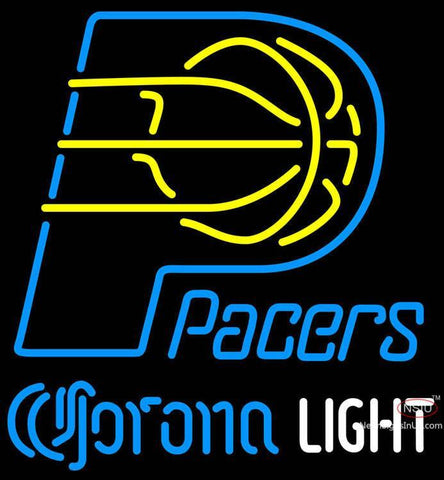 Corona Light Neon Logo Indiana Pacers NBA Neon Sign