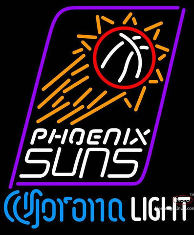 Corona Light Neon Logo Phoenix Suns NBA Neon Sign
