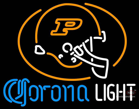 Corona Light Neon Purdue University Calumet Neon Sign