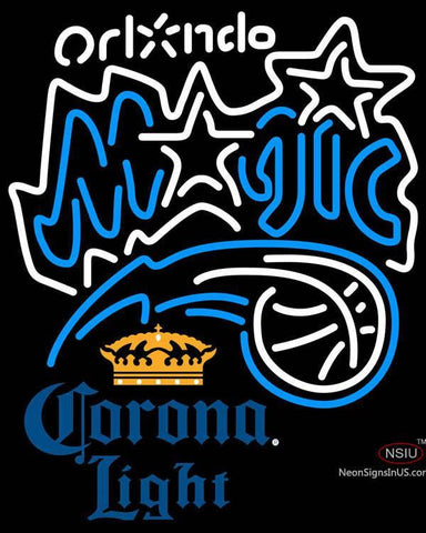 Corona Light Orlando Magic NBA Neon Sign  7