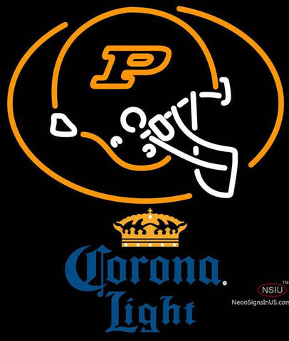 Corona Light Purdue University Calumet Neon Sign