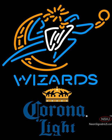 Corona Light Washington Wizards NBA Neon Sign  7