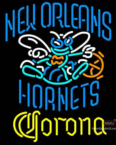 Corona New Orleans Hornets NBA Neon Sign