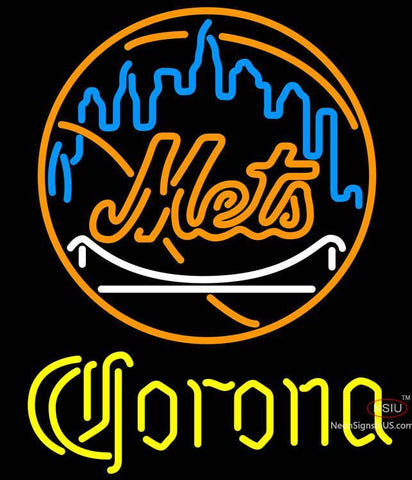 Corona New York Mets MLB Neon Sign