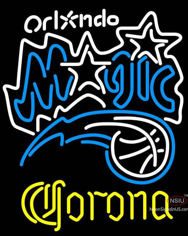 Corona Orlando Magic NBA Neon Sign