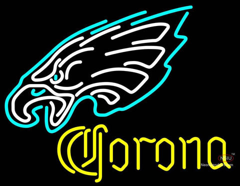 Corona Philadelphia Eagles NFL Neon Sign