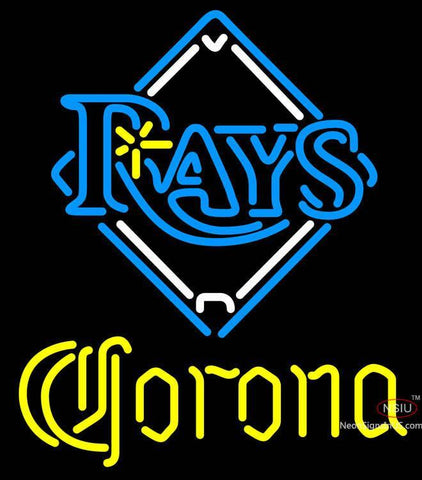 Corona Tampa Bay Rays MLB Neon Sign
