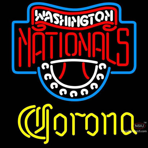 Corona Washington Nationals MLB Neon Sign