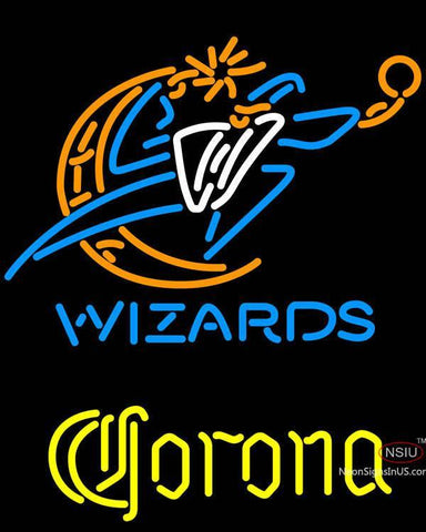 Corona Washington Wizards NBA Neon Sign