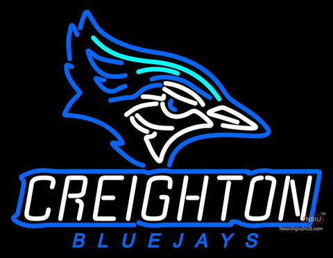 Creighton Bluejays Alternate  Pres Logo NCAA Neon Sign