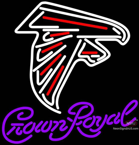 Crown Royal Atlanta Falcons NFL Neon Sign