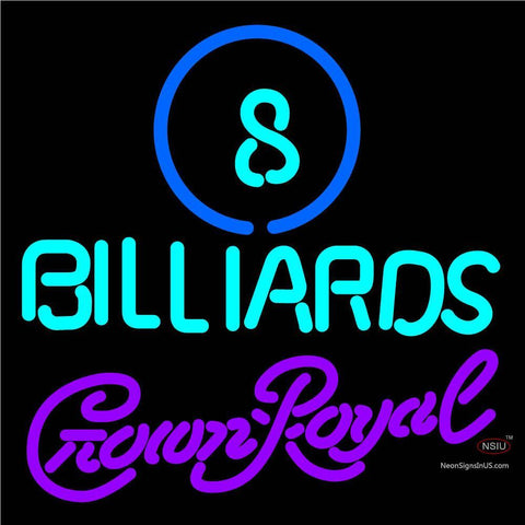 Crown Royal Ball Billiards Pool Neon Sign   x