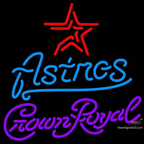 Crown Royal Houston Astros MLB Neon Sign   x