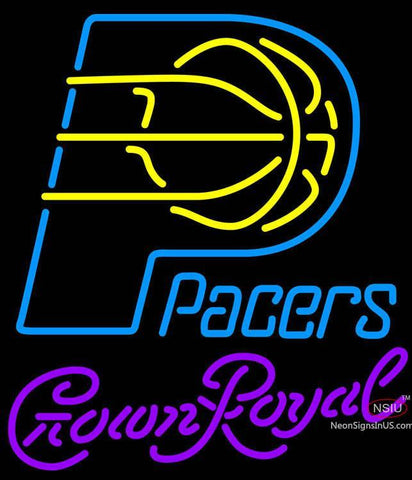 Crown Royal Indiana Pacers NBA Neon Sign