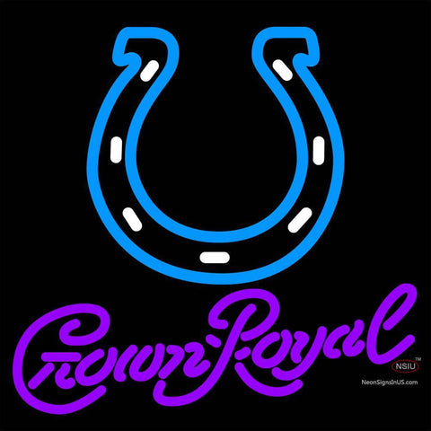 Crown Royal Indianapolis Colts NFL Neon Sign   x
