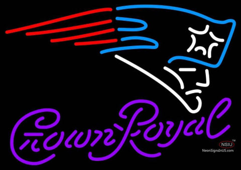 Crown Royal New England Patriots NFL Neon Sign