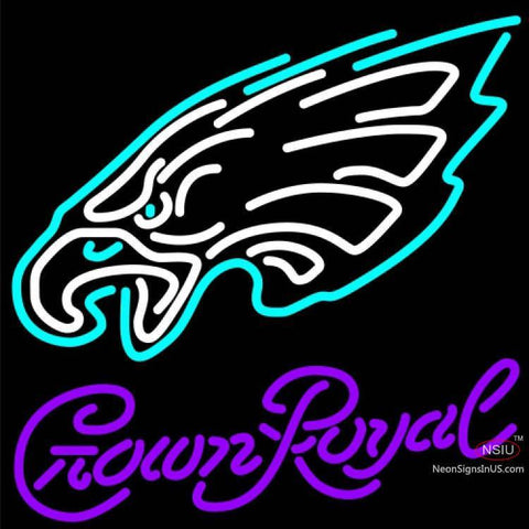 Crown Royal Philadelphia Eagles NFL Neon Sign   x