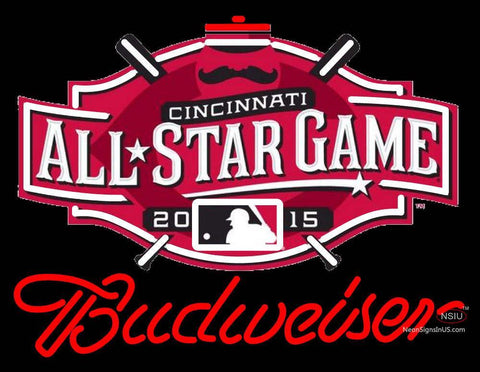 Custom All Star Game Budweiser Logo Neon Sign