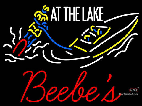 Custom At The Lake Bebes Neon Sign