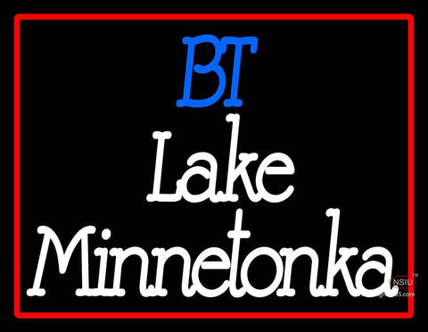 Custom At The Lake Bt Lake Minnetonka Neon Sign