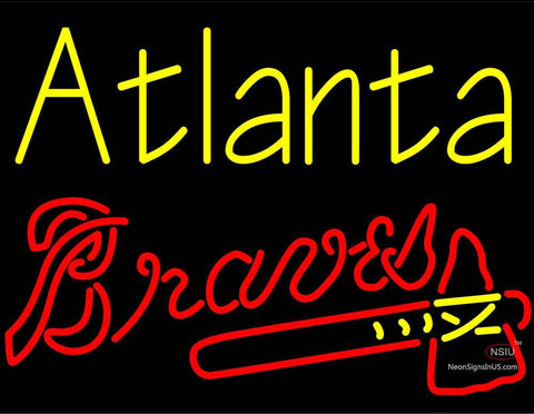 Custom Atlanta Braves Neon Sign