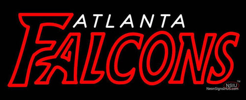 Custom Atlanta Falcons   Wordmark Logo Neon Sign