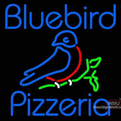 Custom Bluebird Pizzeria Neon Sign 7