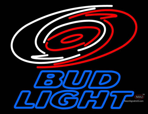 Custom Bud Light Carolina Hurricanes Logo Nhl Neon Sign