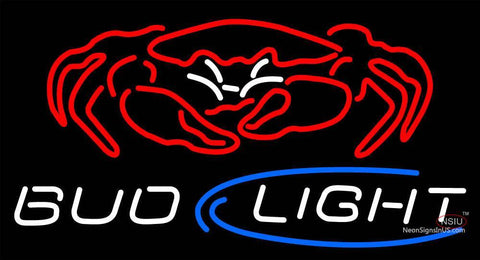Custom Bud Light Crab Neon Sign