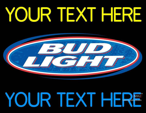 Custom Bud light Neon Beer Sign