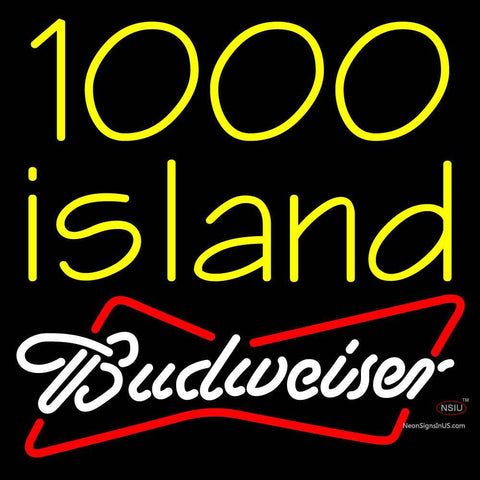 Custom Budweiser  Island Neon Sign