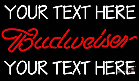 Custom Budweiser Neon Beer Sign 7