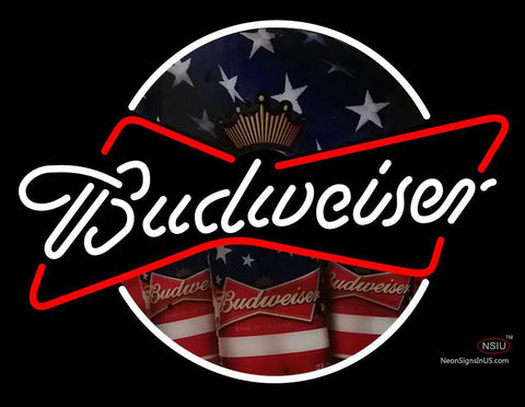 Custom Budwiser Logo Neon Sign
