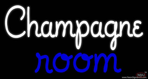 Custom Champagne Room Logo Real Neon Glass Tube Neon Sign