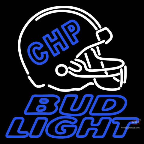 Custom Chp MU Tigers Football Helmet Bud Light Neon Sign