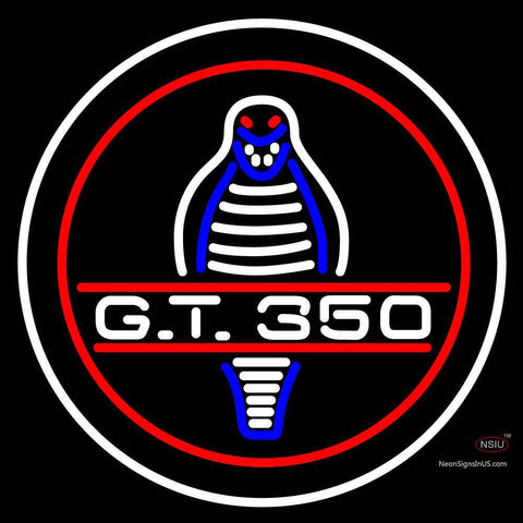 Custom Cobra Gt  Logo Neon Sign