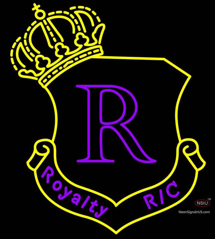 Custom Crown Royalty Rc Logo Neon Sign