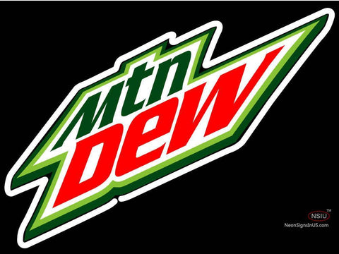 Custom Do The Dew Neon Sign