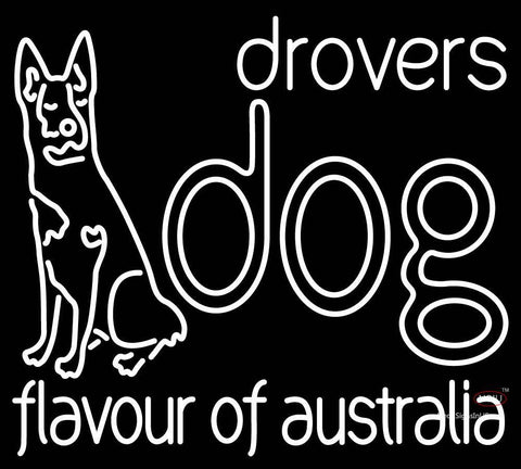 Custom Drovers Dog Flavour Of Australia Neon Sign