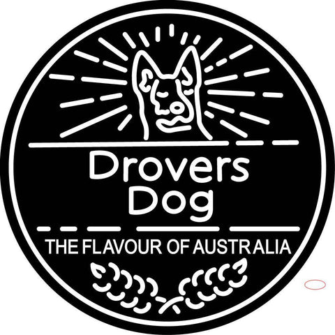 Custom Drovers Dog The Flavour Of Australia Neon Sign