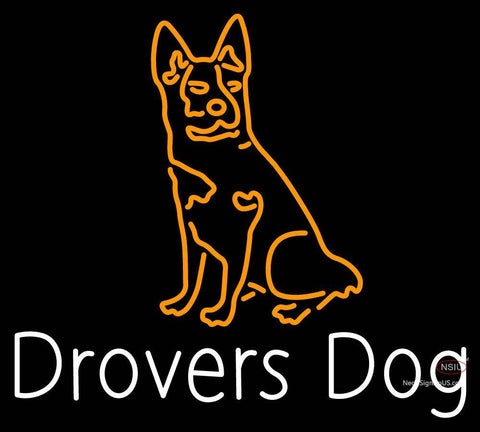 Custom Drovers Dog Neon Sign