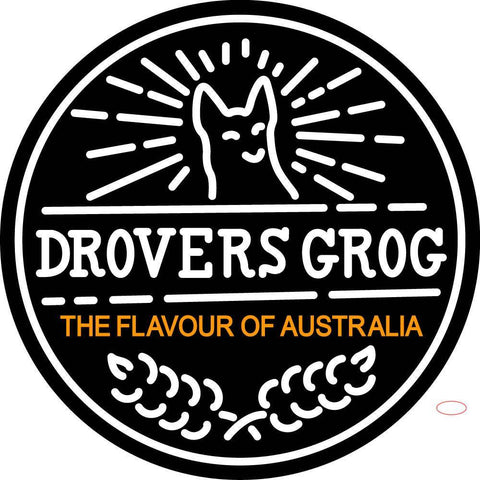 Custom Drovers Grog The Flavour Of Australia Neon Sign