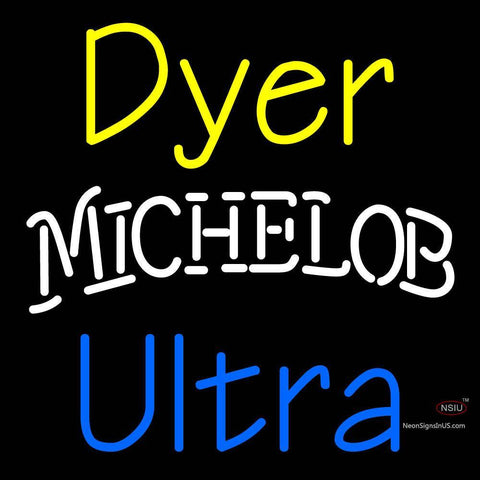 Custom Dyer Michelob Ultra Neon Sign