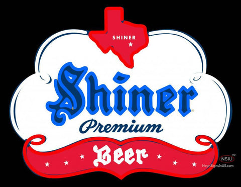 Custom Example Of Shiner Specialty Of Texas Neon Sign
