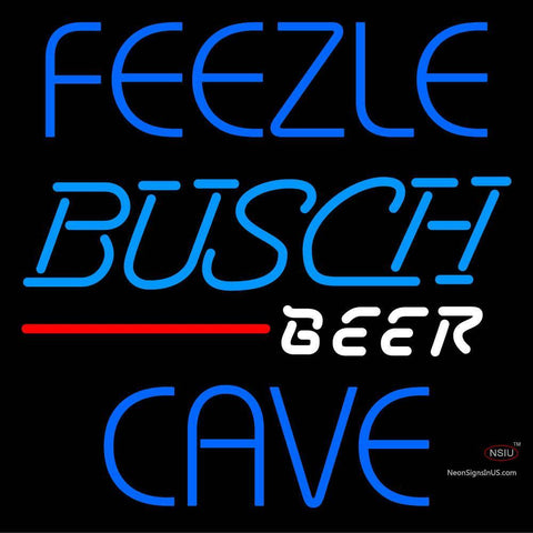 Custom Feezle Mancave Busch Beer Neon Sign
