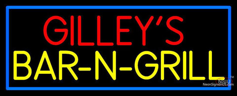 Custom Gilleys Bar N Grill Neon Sign